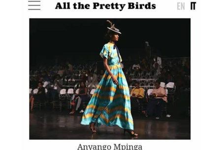Anyango Mpinga on ALL THE PRETTY BIRDS ITALY