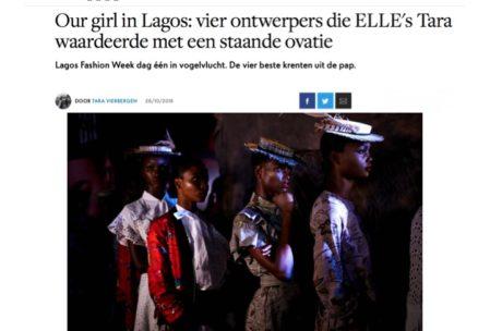 Anyango Mpinga on ELLE NETHERLANDS